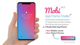Mobi - App Promo Video Toolkit