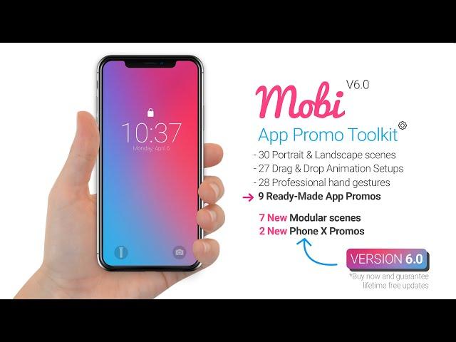 52 Best Mobile App Promo Video Templates - Envato