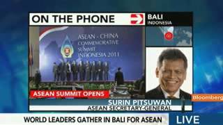 Asean Secretary General on East Asia Summit - Nov 18, 2011 (Bloomberg)