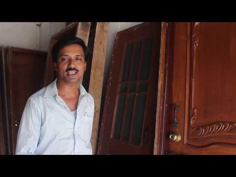 Wooden  Door & Window / Old Wooden Furniture / Cheapest Market In Kolkata