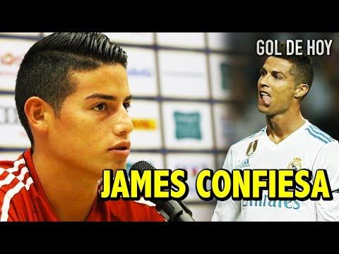 La confesión de James sobre Cristiano | CR7 Reacciona al nombre de Messi