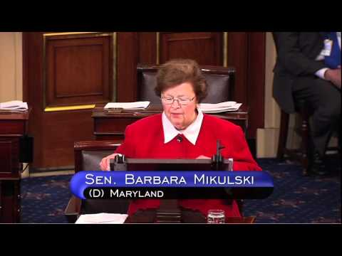 Mikulski Recognized as Longest-Serving Woman in History of U.S. Congress