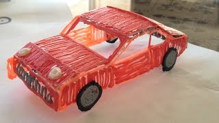 3doodler tutorial: How to make a car!
