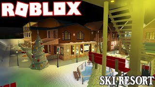 $1 MILLION SKI RESORT IN ROBLOX!!! | Subscriber Tours (Roblox Bloxburg)