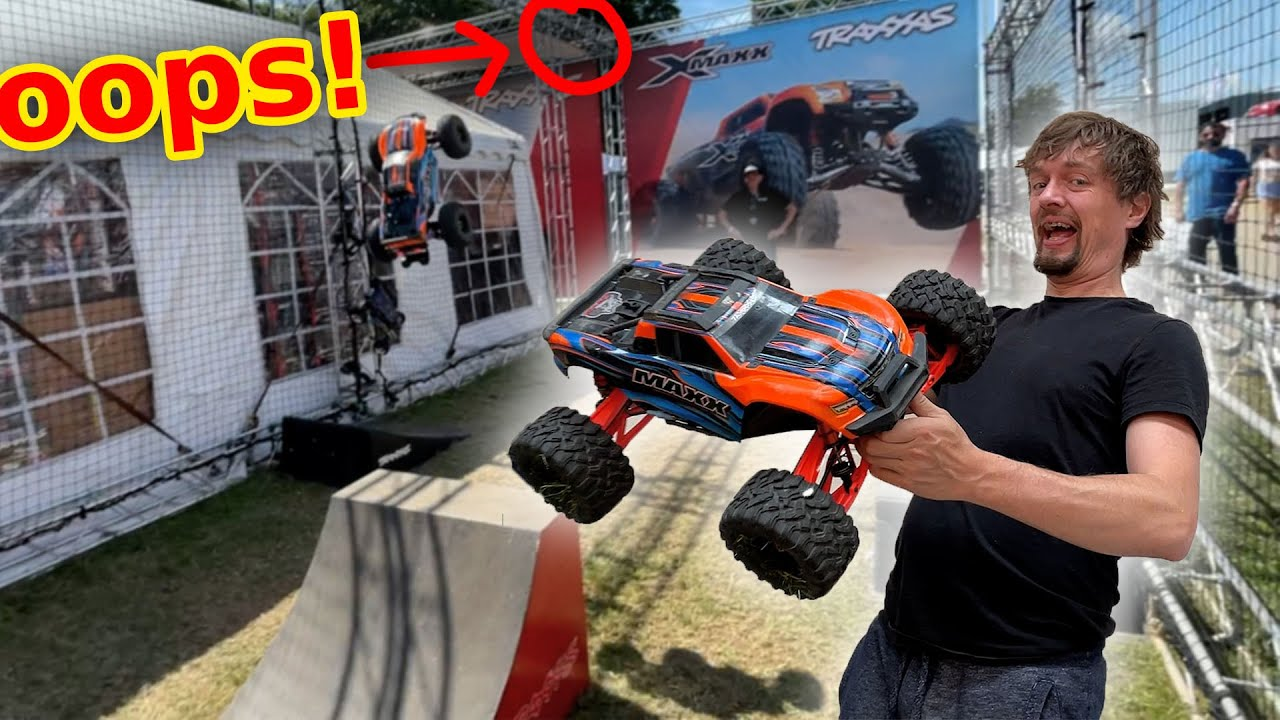 Gate crashing Traxxas at Goodwood festival of speed
