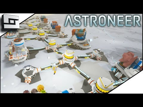 SUPER POWERED BASE! - Astroneer Multiplayer Gameplay S2E12