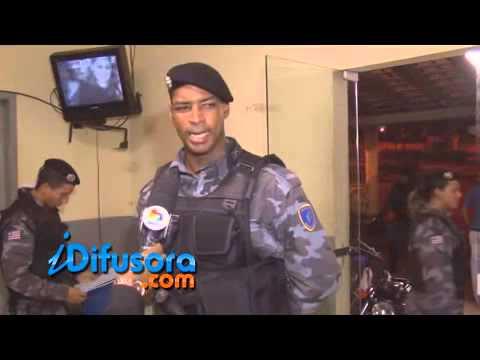 Traficante do Barreto é preso após Disque Denúncia - TV Difusora (SBT)