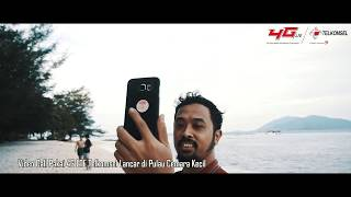 Pertama! Telkomsel 4G LTE Hadir di Kepulauan Karimunjawa 2017 Video