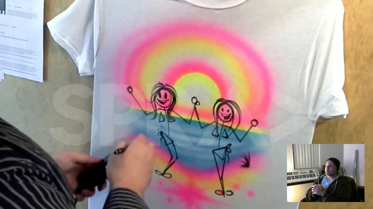 f1c19a44f Besties Custom Airbrush T shirt from Spray tees com - YouTube