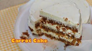 촉촉한 당근케이크 만들기_Carrot Cake Reci…