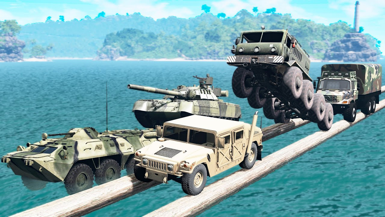Download Battle of Military Vehicles - Who is better? - Beamng drive
