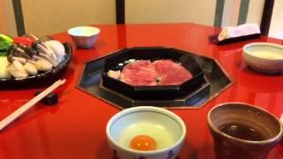 京都三条にてすき焼きを食らう at 三嶋亭 平成27年1月4日