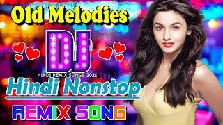 Remix Old Hindi DJ 💥 Hi Bass Dholki Mix 💥 Non-stop Hits Old Song   90's Hindi Romantic Jukebox 2021
