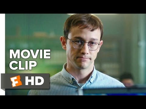 Thumbnail: Snowden Movie CLIP - Aptitude Test (2016) - Joseph Gordon-Levitt Movie