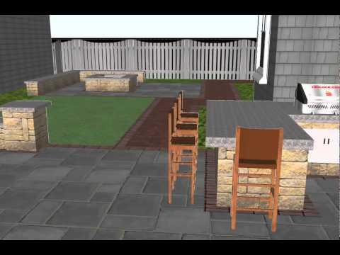 Marina Bay 3-D Model Animation