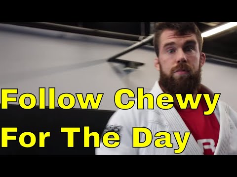 Follow Chewy for the Day (BJJ Training & How To Recharge Mid-Day)