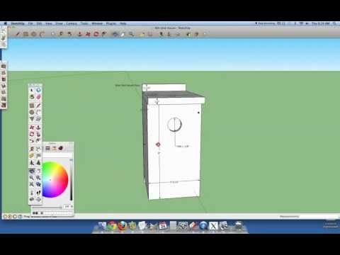 Wren Bird House Plans