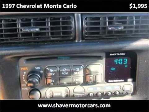 1997 chevrolet monte carlo used cars fort wayne in youtube for Shaver motors fort wayne