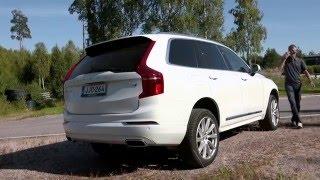Testissä Volvo XC90 (Teknavi 2015)