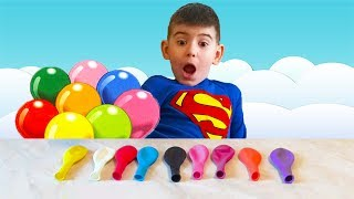 LEARN COLORS WITH BALLOONS! burst the balloons to learn colors