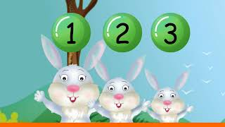 Rabbits Rabbits 1, 2, 3 | Nursery Rhymes & Songs for Children I Animated I Little Mee Rhymes