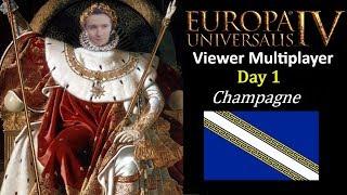 Europa Universalis IV -  Viewer MP - Balkanized World Mod (shattered world mod) - Day 1