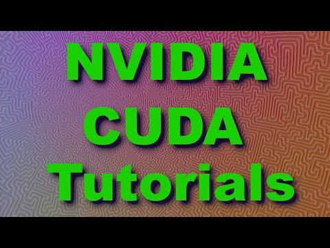 CUDA Tutorial 2: Basics and a First Kernel