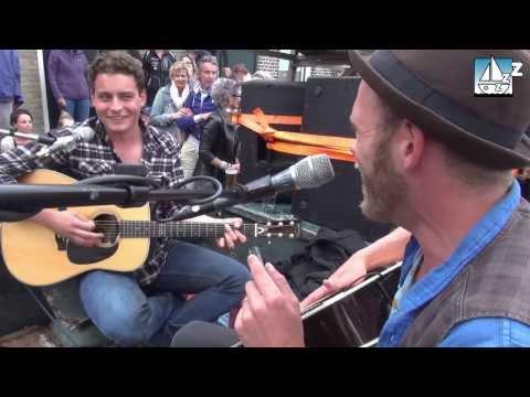 Douwe Bob en Michael Prins samen @oerol 2013 Blues!!!!!