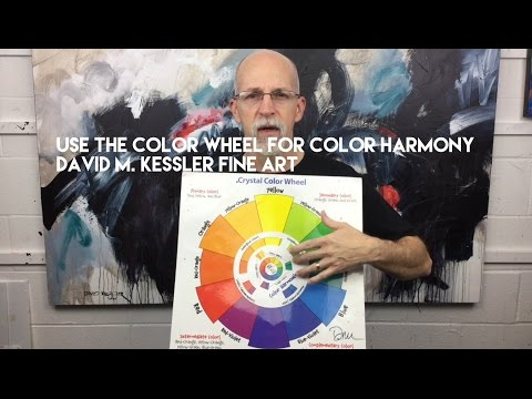 Abstract Painting / Use the Color Wheel for Color Harmony in Your Next Painting
