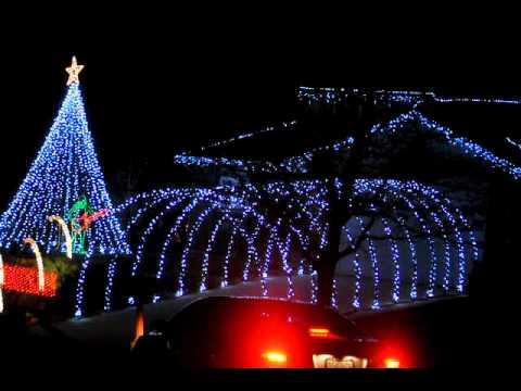 Colorado Springs Christmas Light Show 2010
