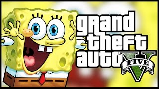 SPONGEBOB in Gta 5 !