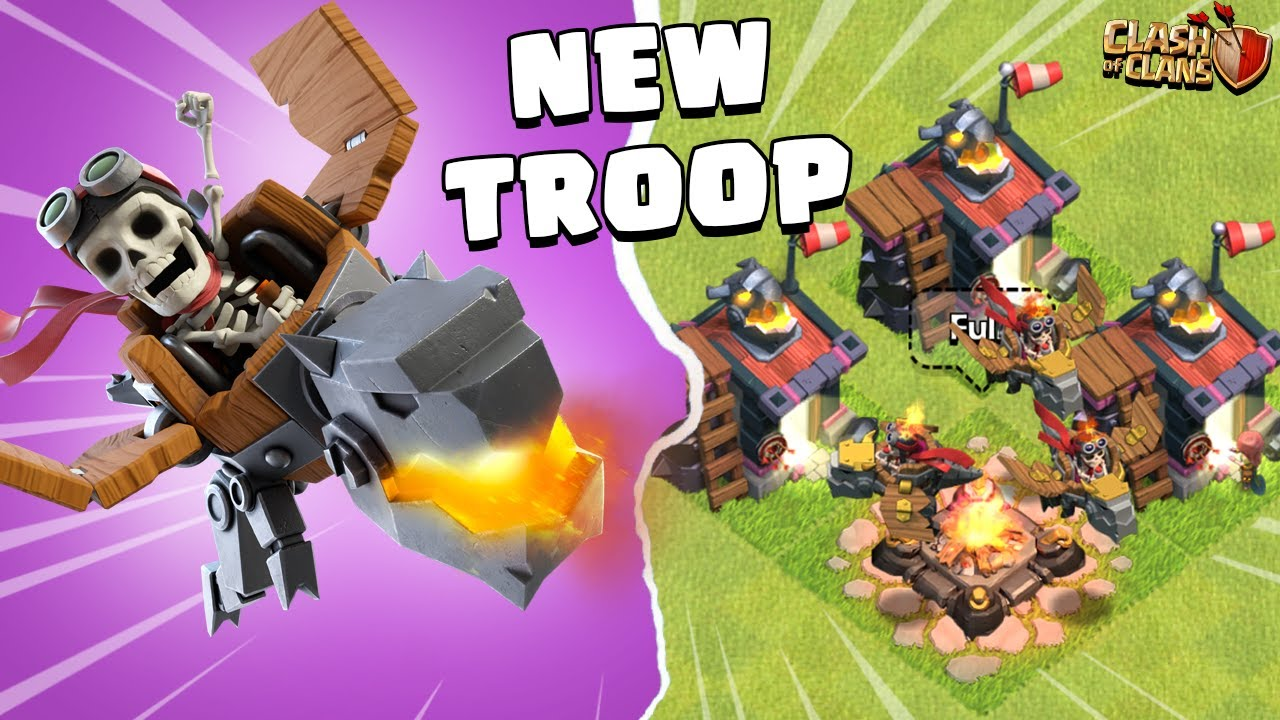 New Troop Dragon Rider | Clash of Clans Update - COC