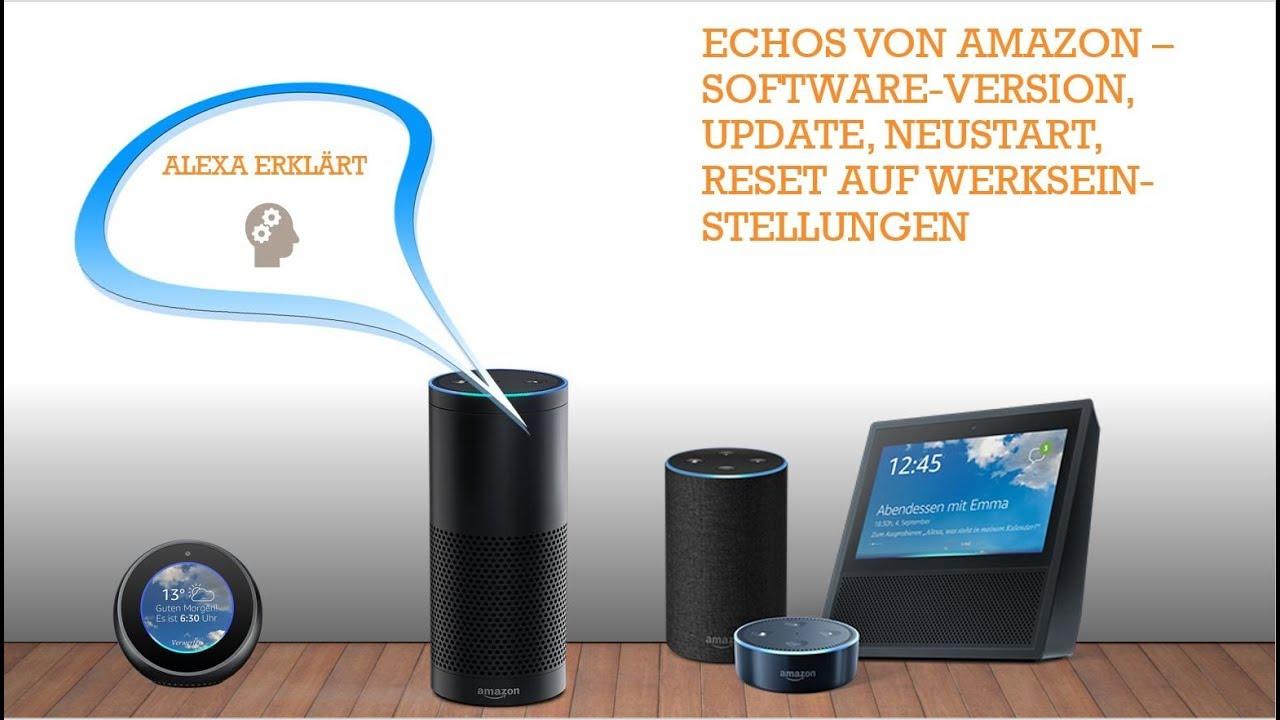 Alexa Software Update