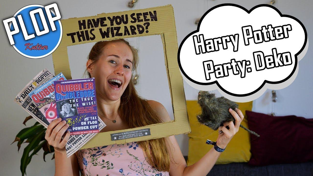 HARRY POTTER PARTY: DEKO EDITION  PlopKultur