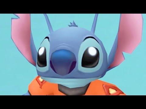 STITCH | Kingdom Hearts Birth by Sleep | Game Movie ᴴᴰ