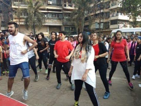 #महापौर पंचम कलानी यांचा जुम्बा डान्स ! #म #marathon #ulhasnagar