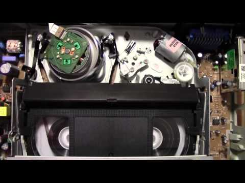 LG LV-4685 videocassette recorder - Rewind cycle