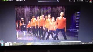 Glee Cast Season 4 episode 7 ending performance