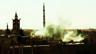 Сирия. В Дара режим обстрелливает тяжелой артилерией мечети...