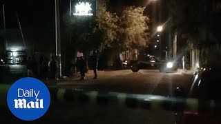 Up to 14 people dead and seven injured in bar shooting in Mexico