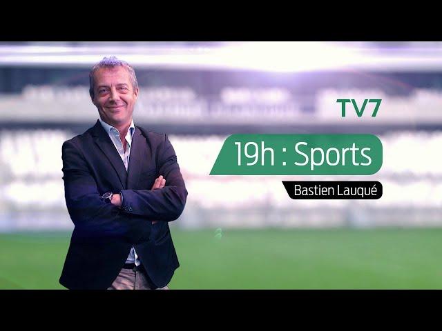 19h : Sports - Mardi 13 Octobre | Patrick Lanusse, président des UBB Fanes | Focus sur OM - Bordeaux