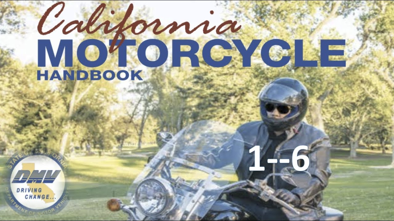 DMV Motorcycle License Handbook