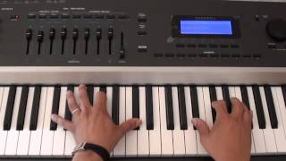 How to play Too Much on piano by Sampha - Piano Tutorial - Drake Too Much