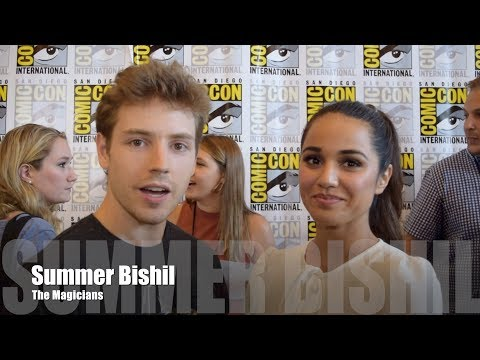 The Magicians: Summer Bishil at SDCC 2017