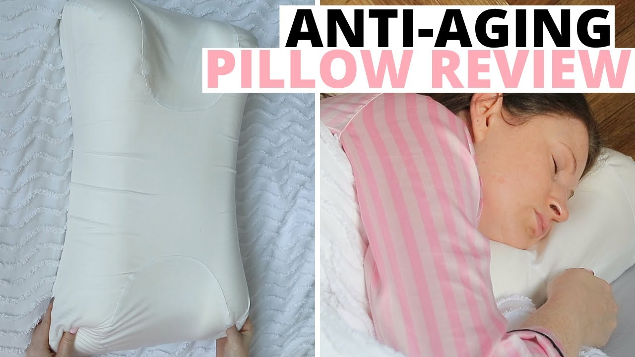 sleep and glow anti aging pillow for side sleepers review demo