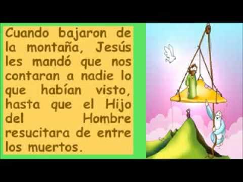 Lectura Y Reflexión 2 Domingo De Cuaresma Ciclo B Para Niños