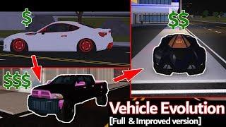 Vehicle Evolution [Full & Improved version] (Roblox VS art/pics)