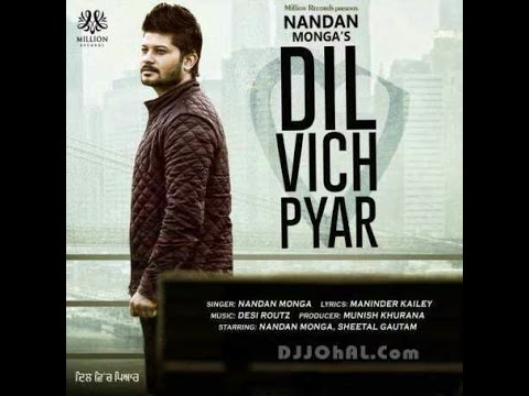 Dil vich pyar full video song- the latest panjabi...