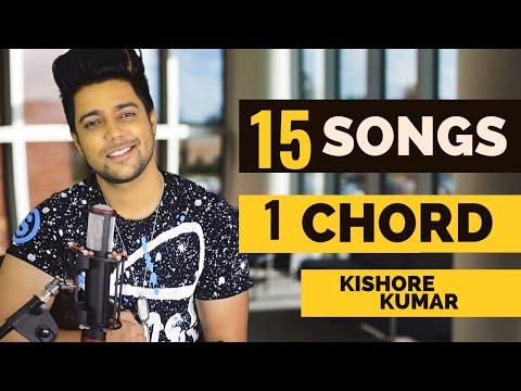 15 Songs on ONE CHORD | Kishore Kumar Medley | Siddharth Slathia