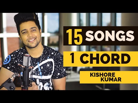 15 Songs on ONE CHORD | Kishore Kumar Medley | Siddharth Slathia